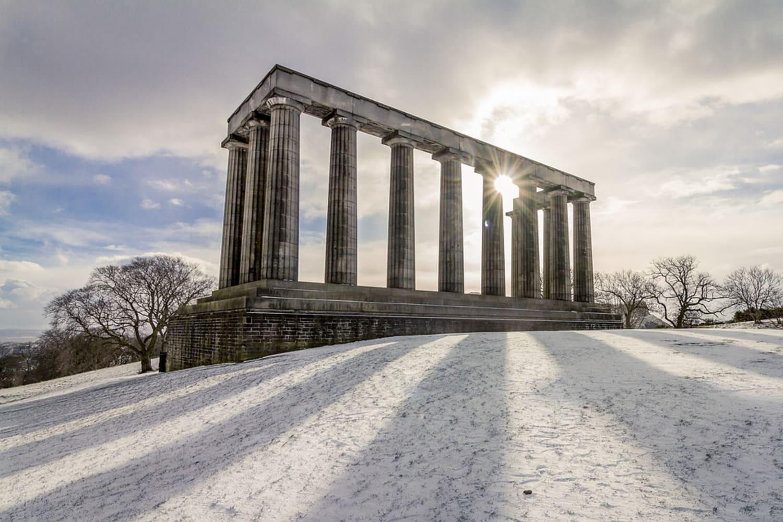 El monumento más famoso de Calton Hill