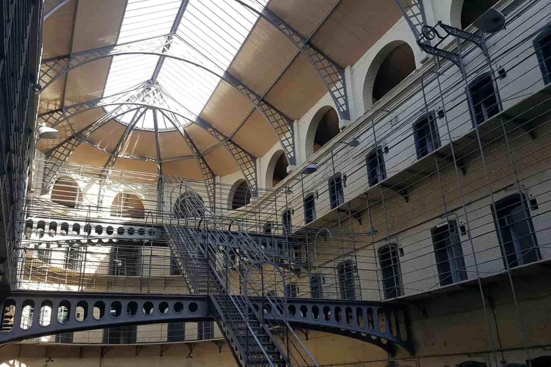 La cárcel de Kilmainham en Dublín