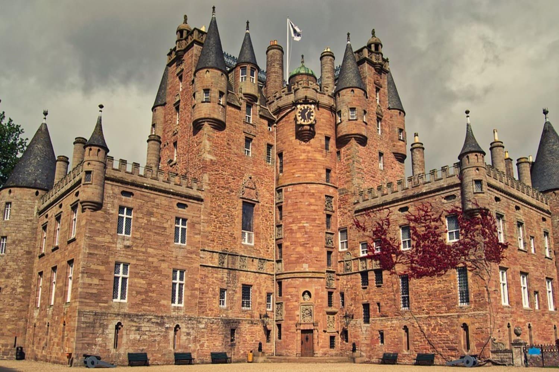 Fachada exterior del Castillo de Glamis