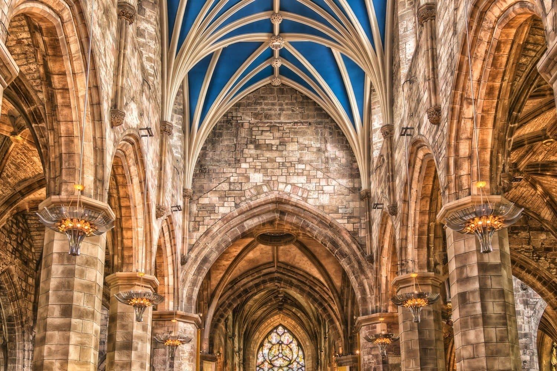 Interior de la Catedral de Edimburgo