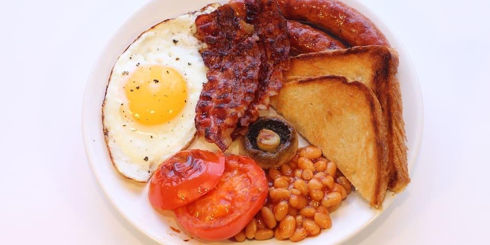 Ejemplo de desayuno escoces