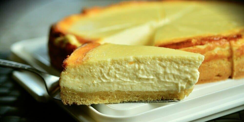 Tarta de queso famosa en la ciudad de los rascacielos