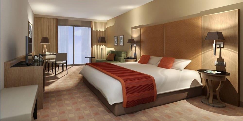 Habitacion de hotel para dormir