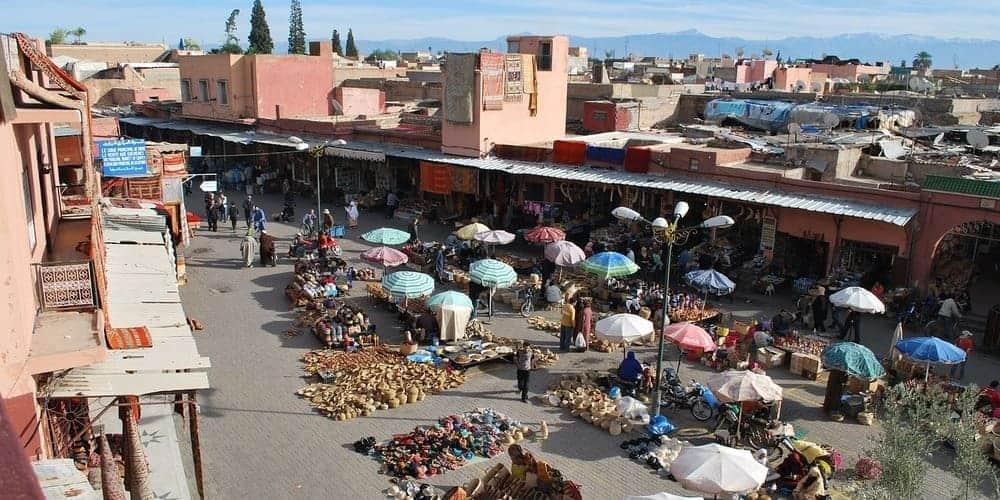 La Medina, mejor zona para alojarse en Marrakech