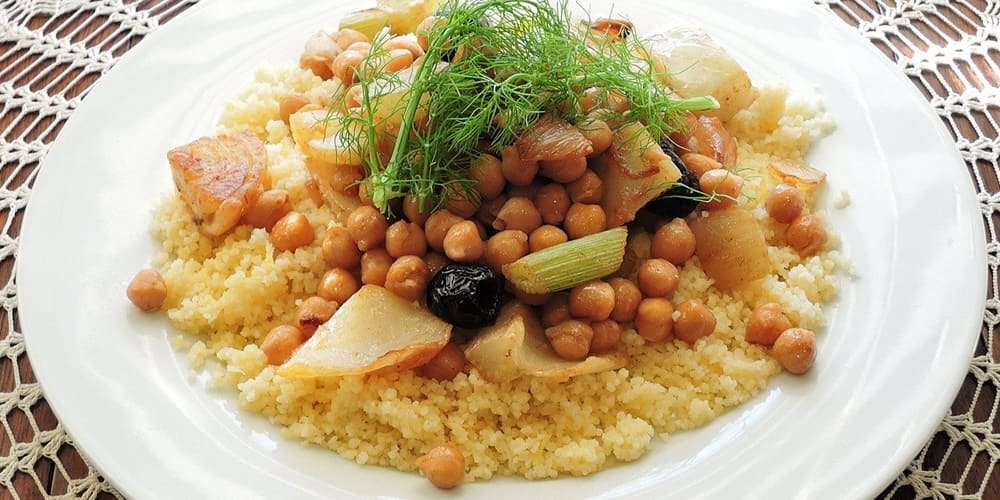 Cuscús, plato tradicional marroquí