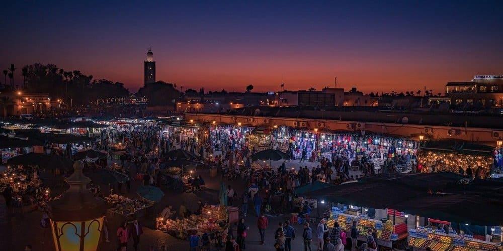 Fin de semana en Marrakech romántico