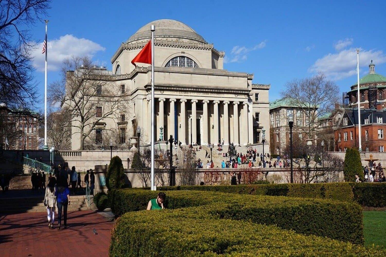 Universidad de Columbia, muy cercana a Harlem