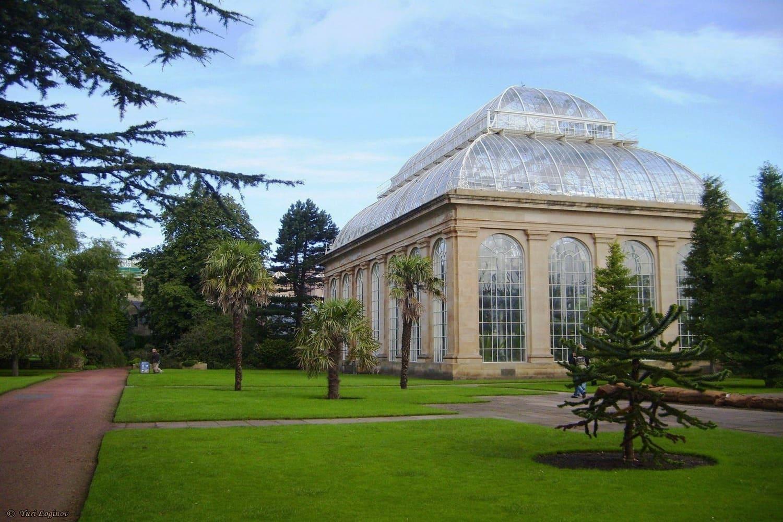 El edificio más famoso del Jardín Botánico de Edimburgo