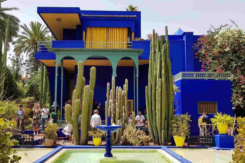 4 Jardines de Marrakech que te enamorarán