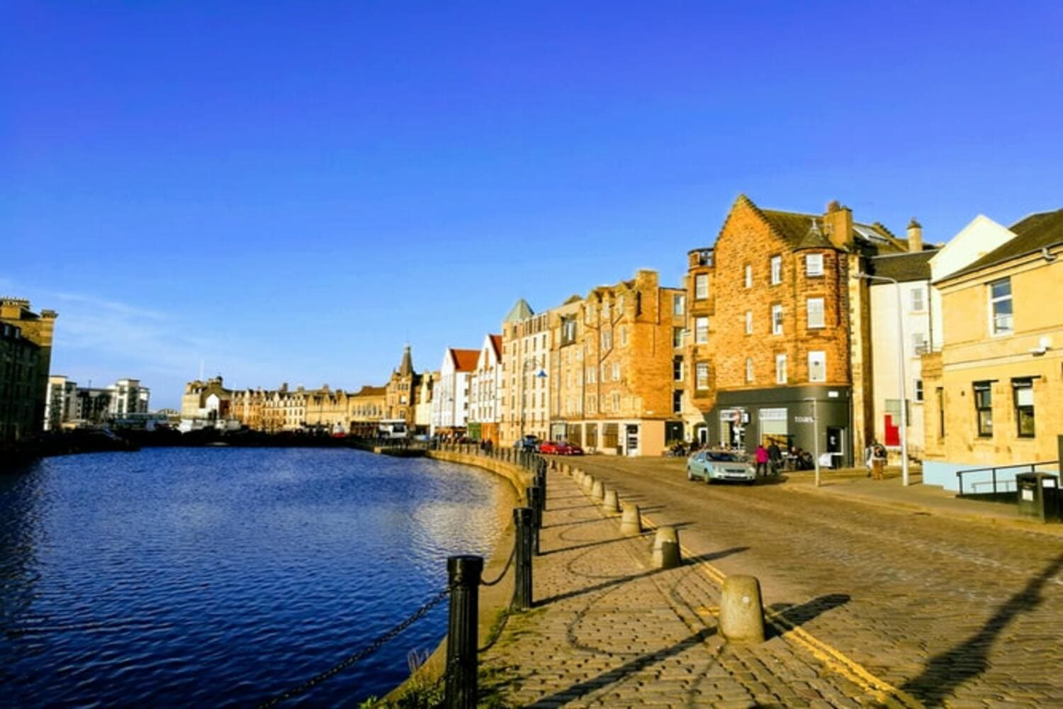 The Shore en el barrio de Leith en Edimburgo