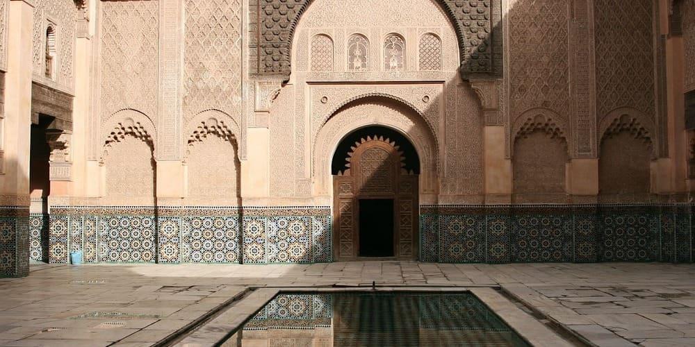 Qué hacer en Marrakech en 3 días - Entrar en la Madrasa de Ben Youssef.