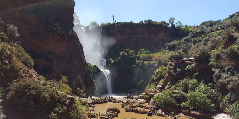 Excursión a las cascadas de Ouzoud para hacer en tu escapada de tres días por Marruecos