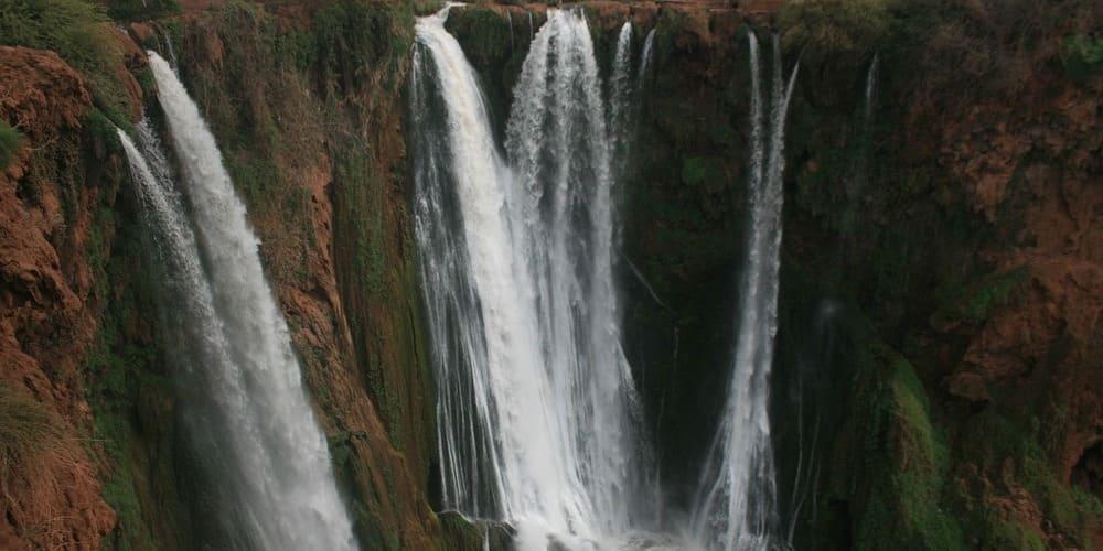 Qué hacer en la Ciudad Roja en 4 días - Excursión a las Cascadas de Ouzoud