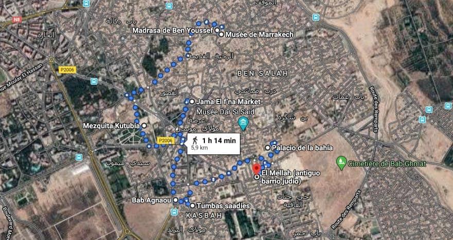 Qué ver en Marrakech en 4 días - ruta por la Medina