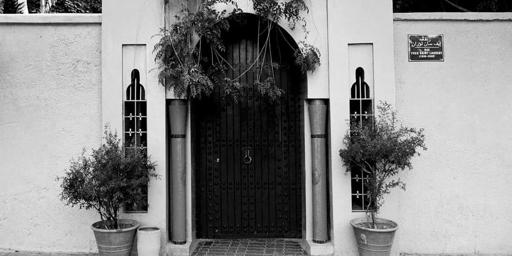 Jardín Majorelle, actualmente propiedad de Yves Saint Laurent en Marruecos