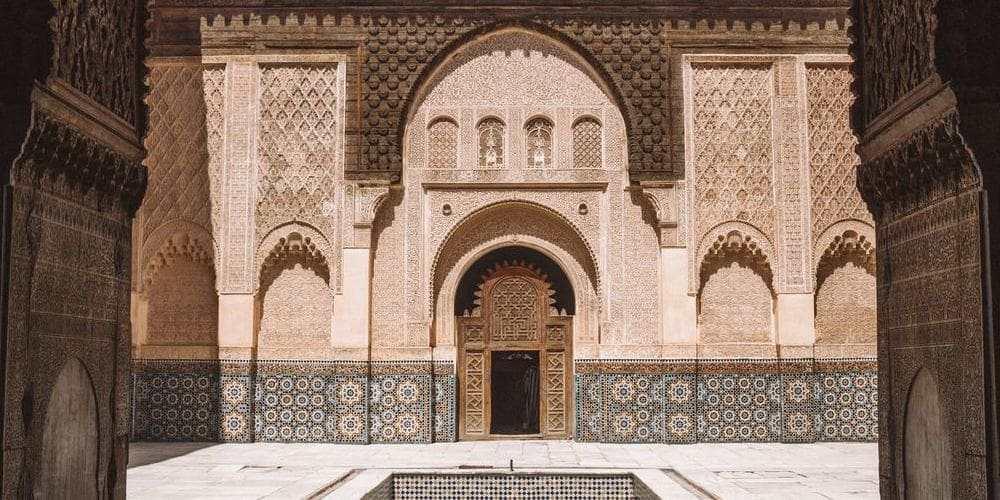 Madrassa Ben Youseef en Marrakech.
