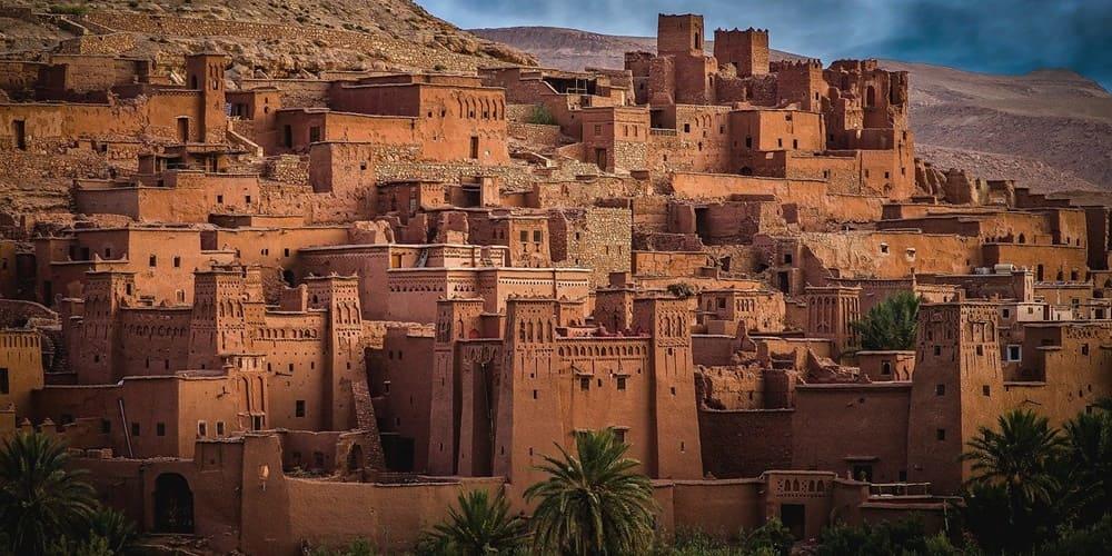 Ait Ben Haddou desde Marrakech en Navidad, ciudad del sur de marruecos