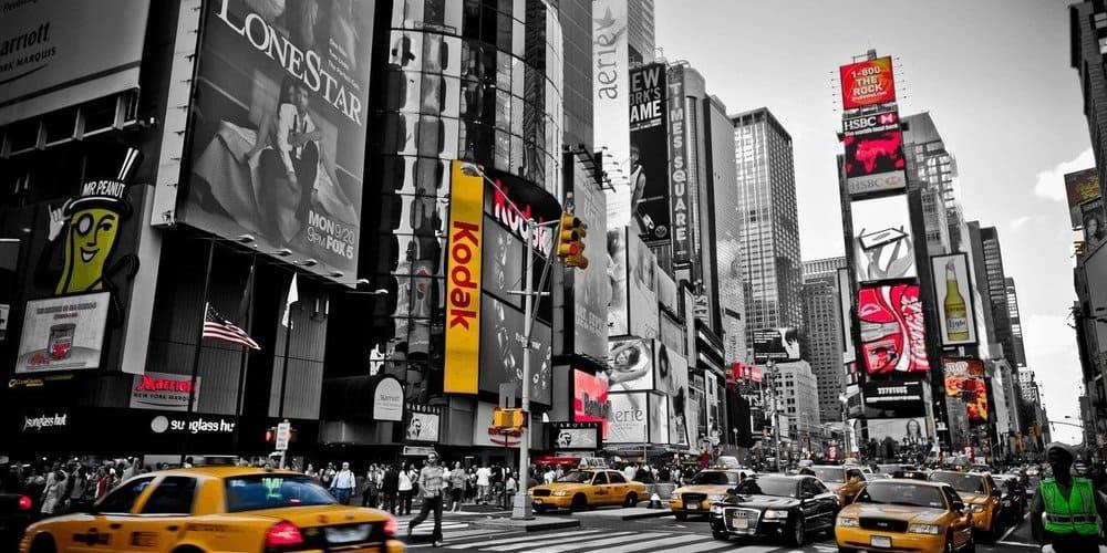 Edificios de la plaza Times Square