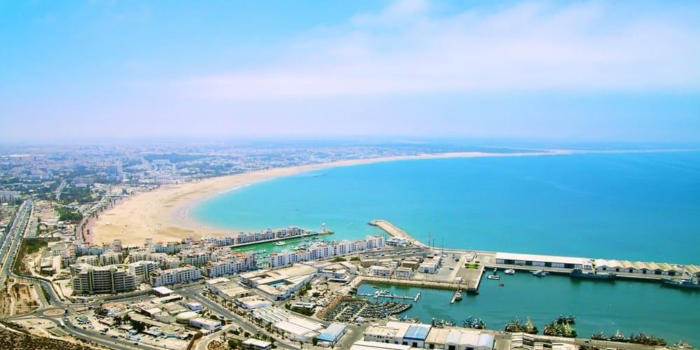 Panoramica de la ciudad de Agadir