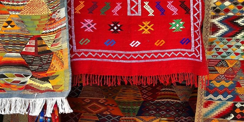 Alfombras artesanales de Marruecos