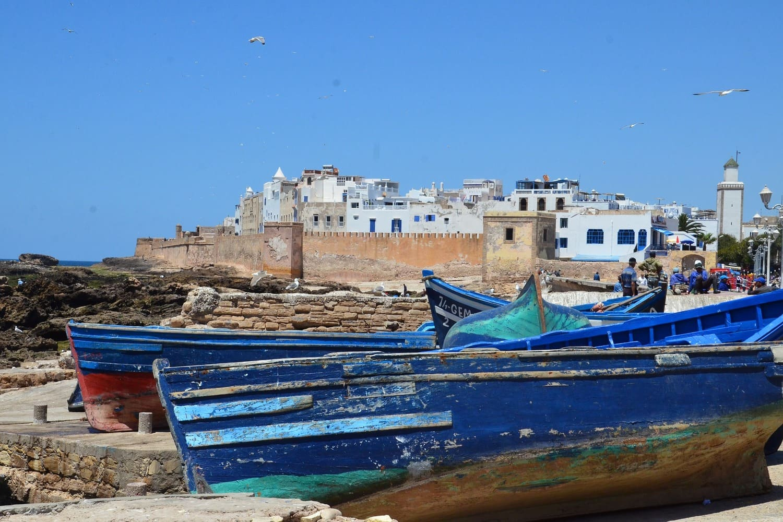 Las famosas barcas que ver en Essaouira