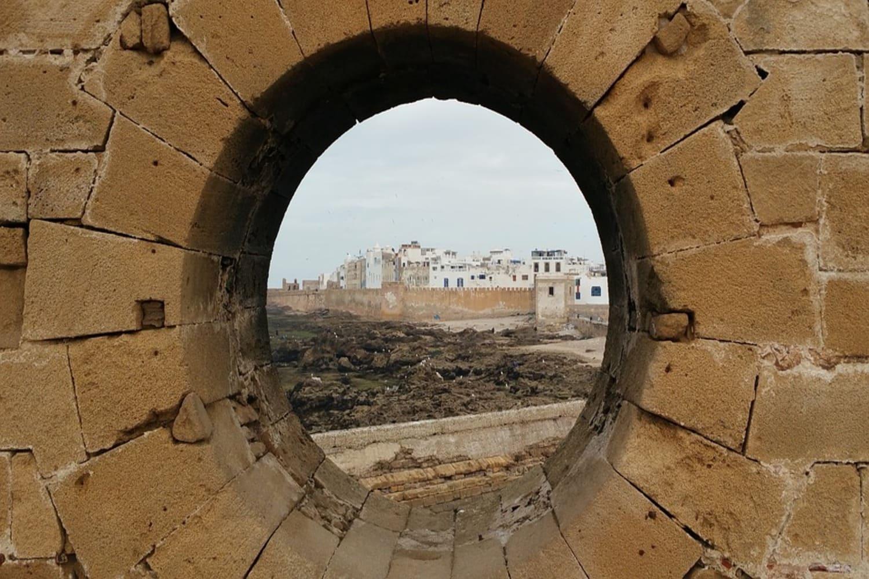Muralla d es una de los lugares qué ver en Essaouira
