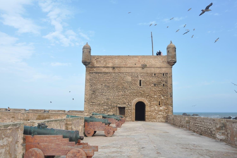 La torre es el punto más alto de la muralla