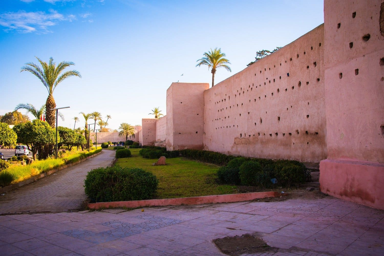 La muralla de Marrakech, con 9 metros de altura