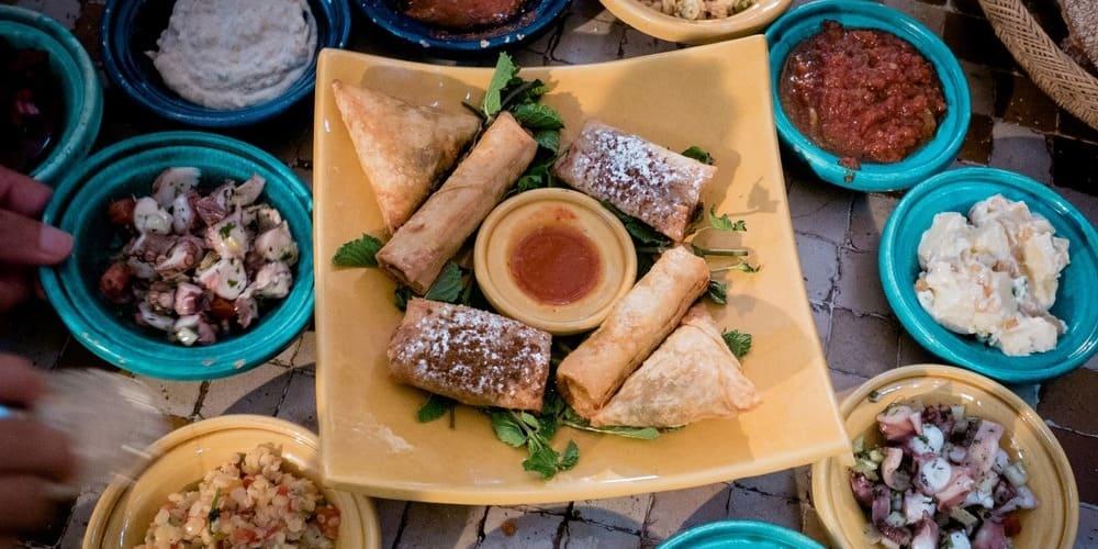 Comida típica de Marruecos.