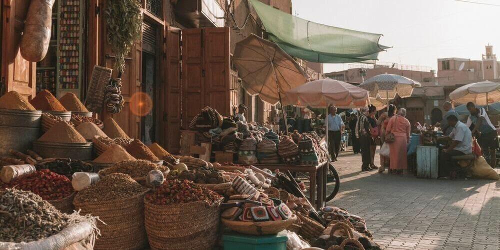 La Medina controlada por los ciudadanos de Marrakech.