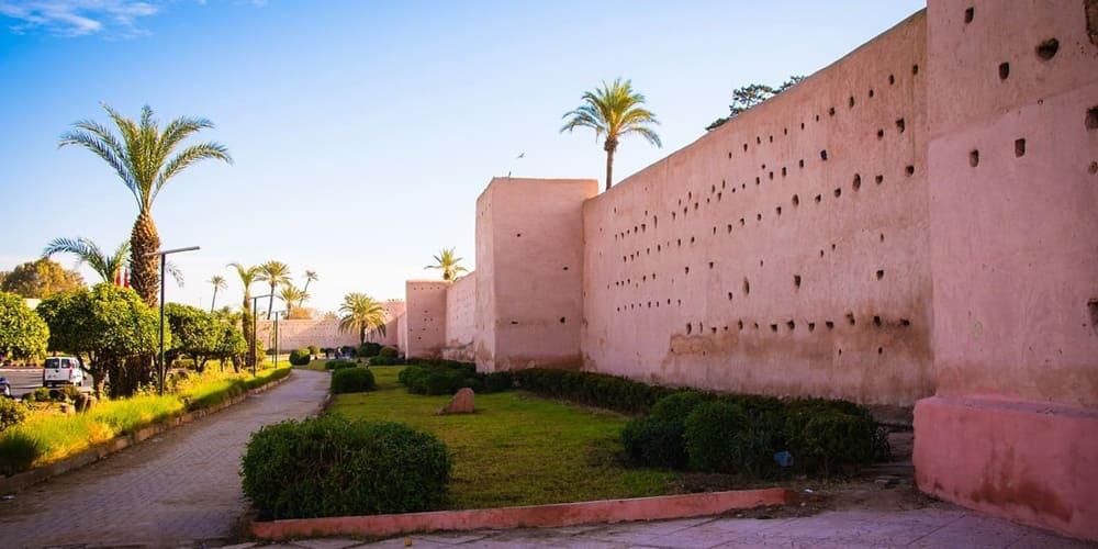 Tiempo y temperatura de Marrakech en agosto