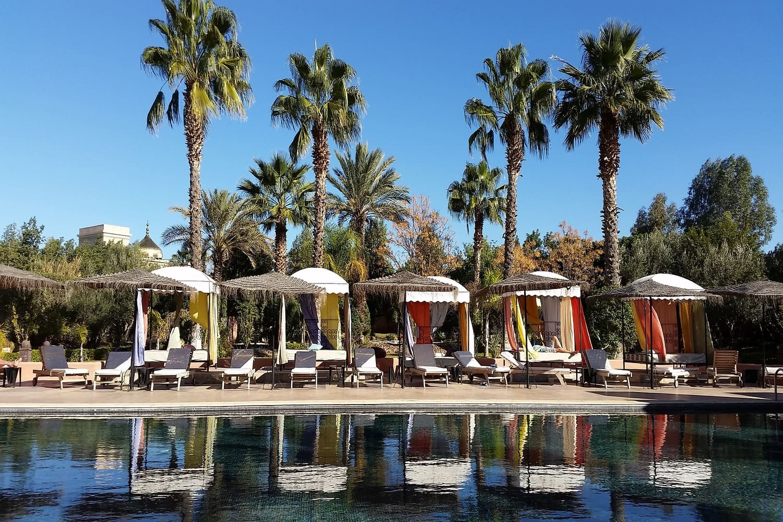 La temperatura en Marrakech en julio nos obligará a refrescarnos y mojarnos