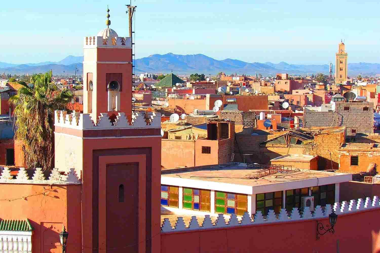 Tiempo, clima y temperatura en Marrakech en marzo