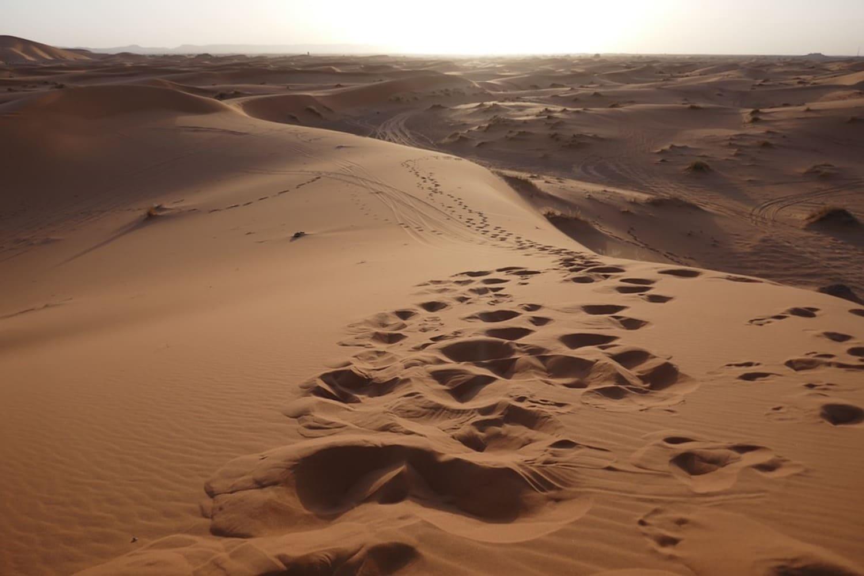 La temperatura en Marrakech en septiembre es buena para ir al desierto