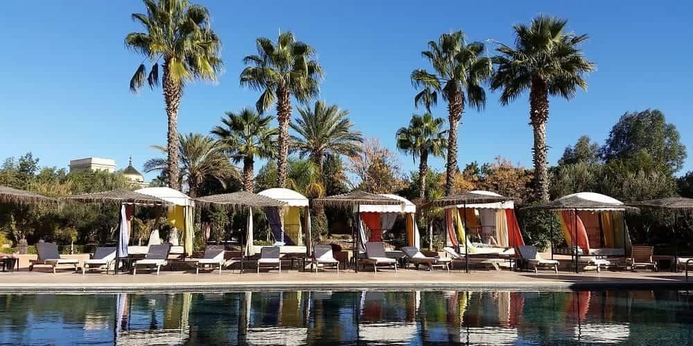 Tiempo y temperatura en Marrakech en octubre