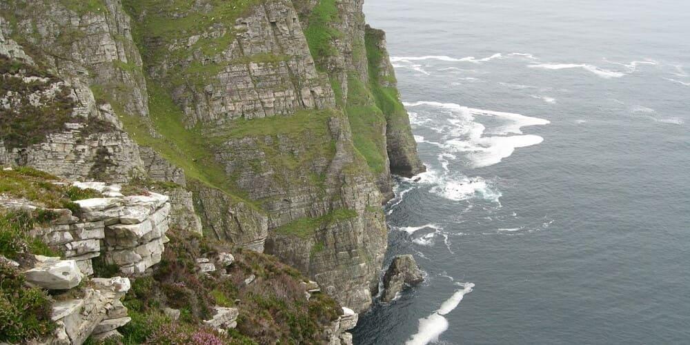 Los acantilados de Irlanda Horn Head