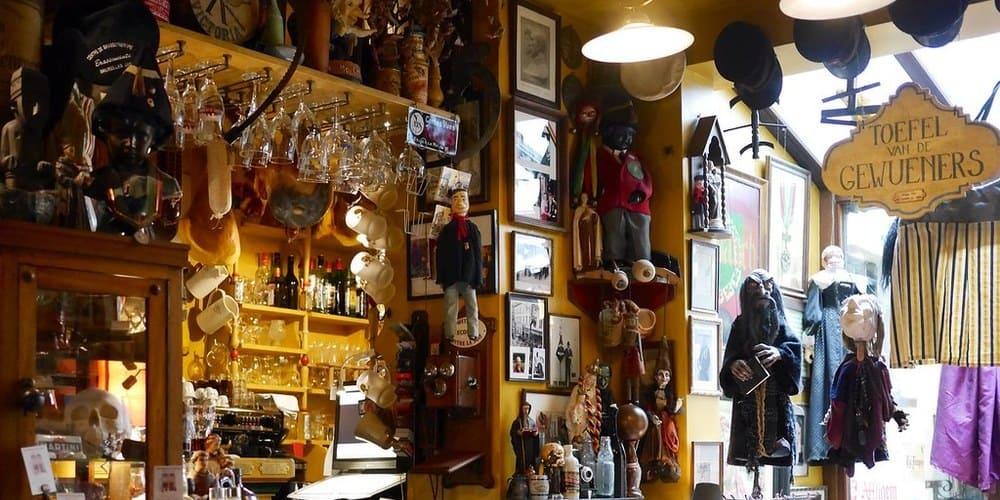Poechenellekelder, un bar en Bruselas típico