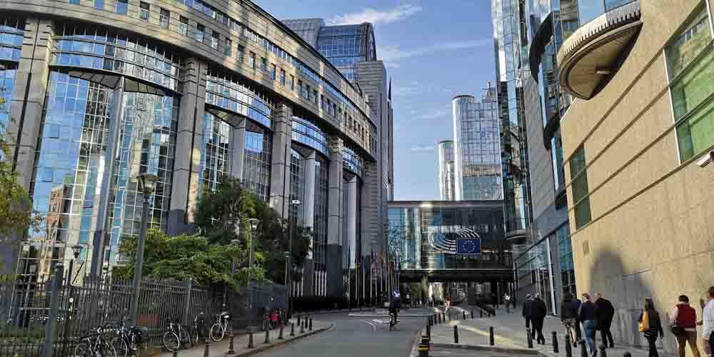 La Sede de la Comisión Europea en Bruselas.