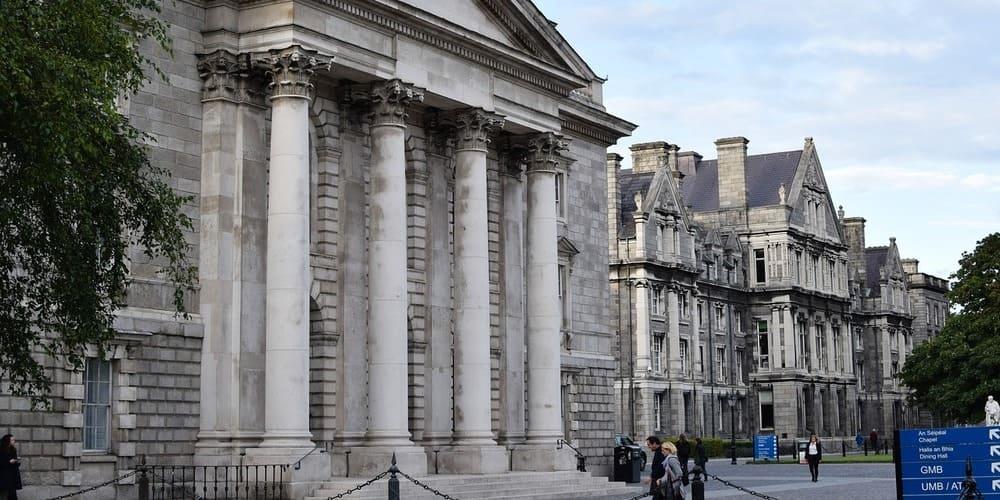 Ubicación de la biblioteca del Trinity College