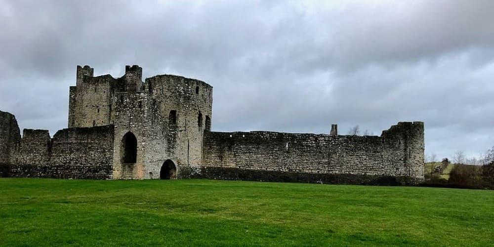 El Castillo de Trim en Irlanda