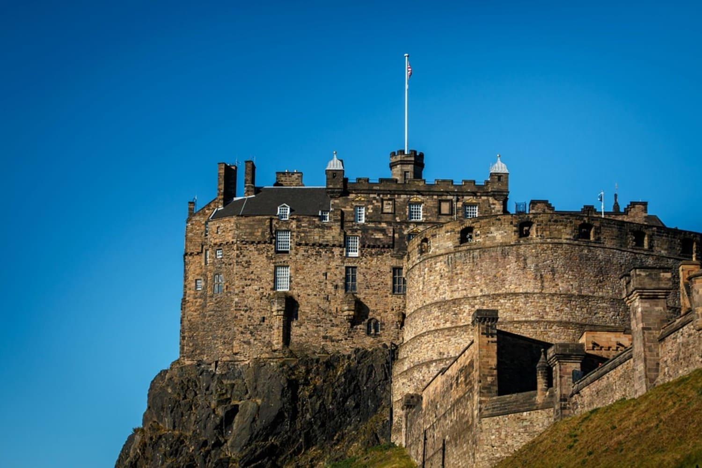 Imagen del Castillo de Edimburgo
