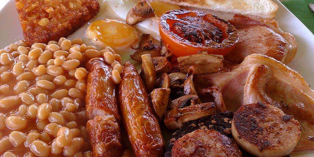 Desayuno irlandés, uno de los platos típicos de Dublín más famosos
