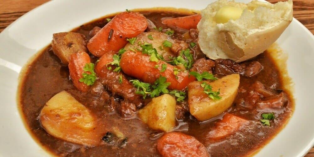 Comida típica de Dublín: estofado irlandés
