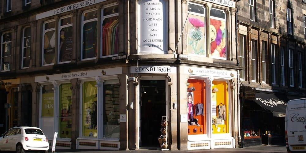 Consejos de Edimburgo: horario comercial de las tiendas