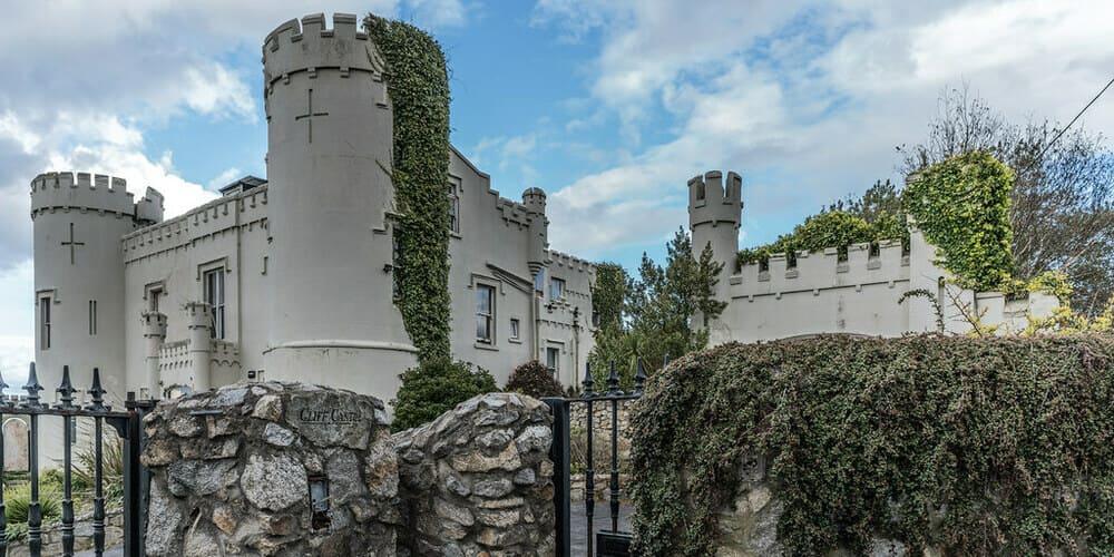 El castillo de Dalkey en Irlanda