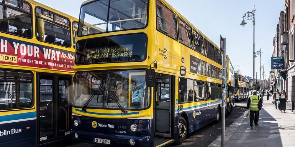 Líneas de los autobuses de Dublín y recorridos