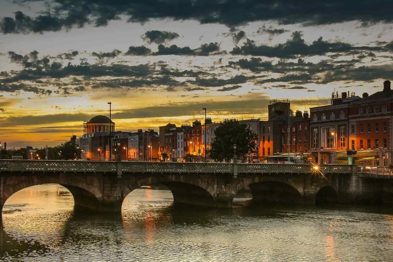 Mapa de Dublín – Plano Turístico