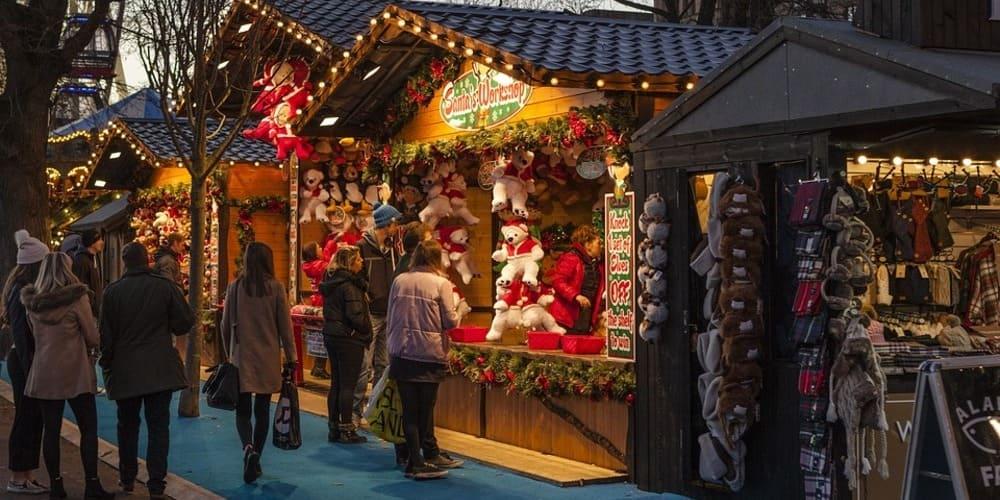 Mercadillos de Navidad en Dublín