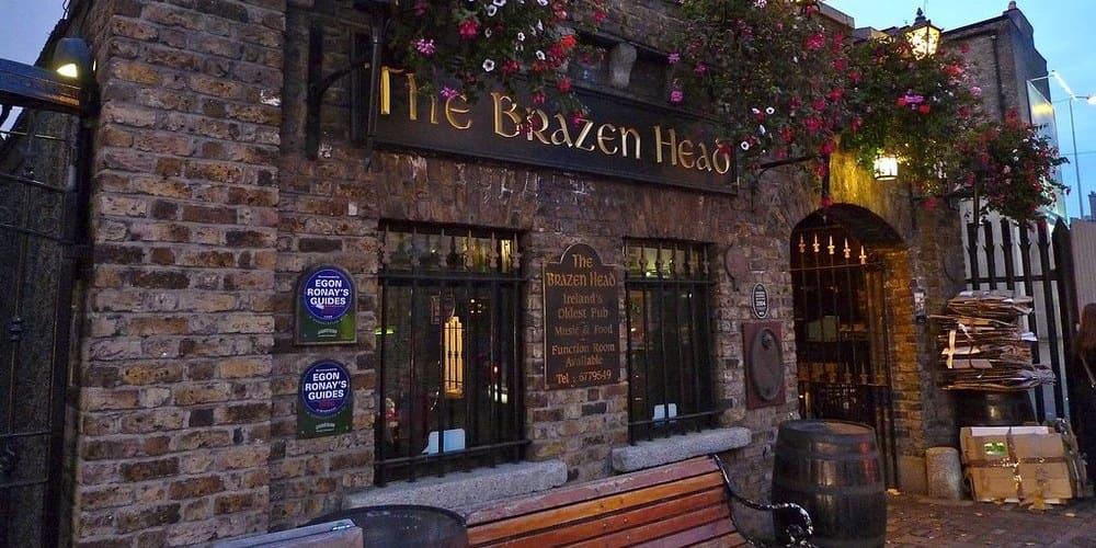 Bares de Dublín - pub Brazen Head