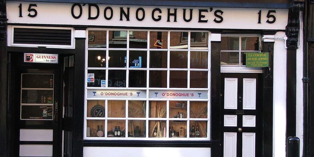 Conoce los pubs de Dublín más famosos: O'Donoghues Pub